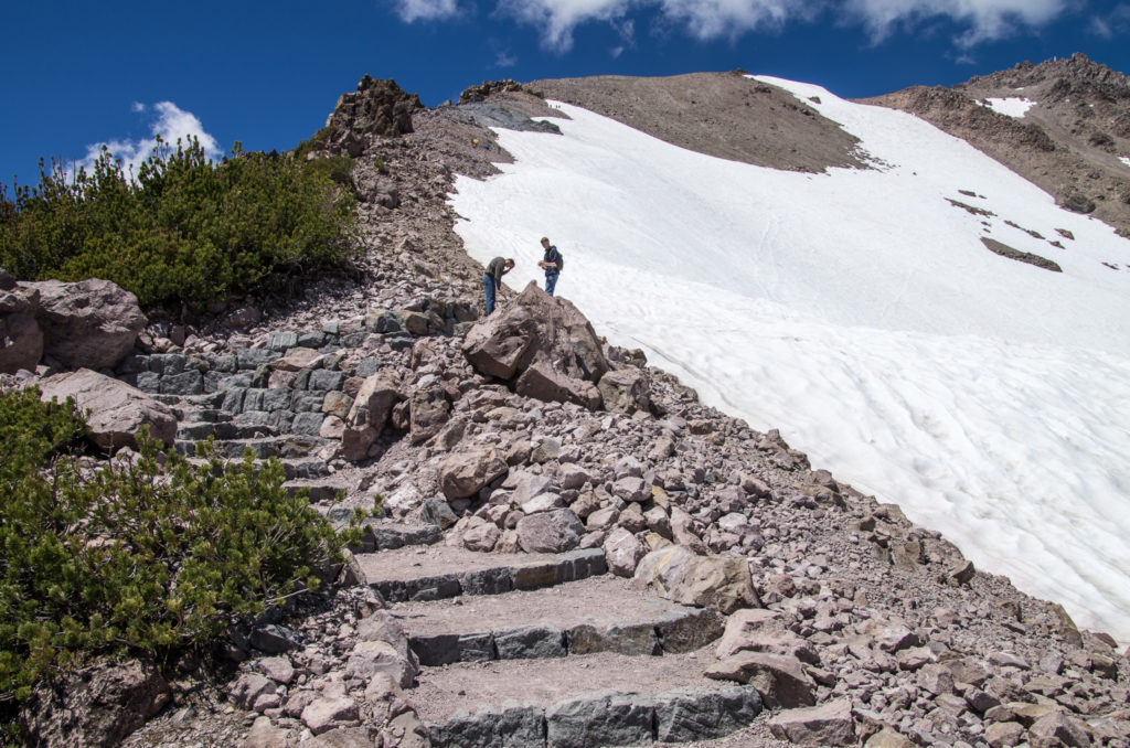 the steps to the ridge