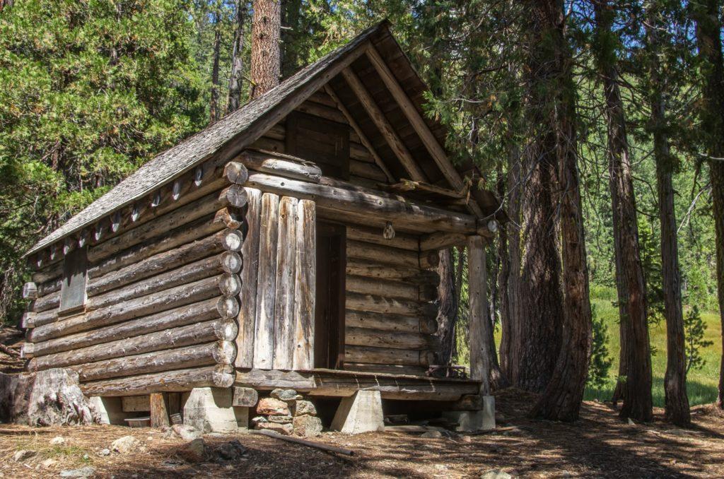 foster cabin. it's kinda creepy looking.