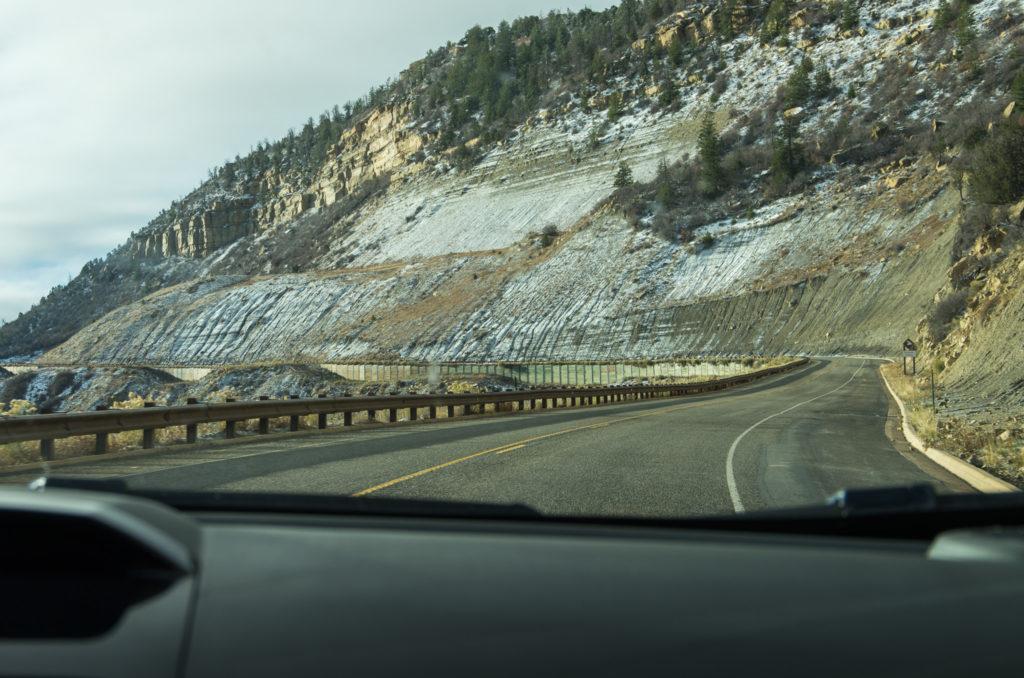 spectacular drive into mesa verde