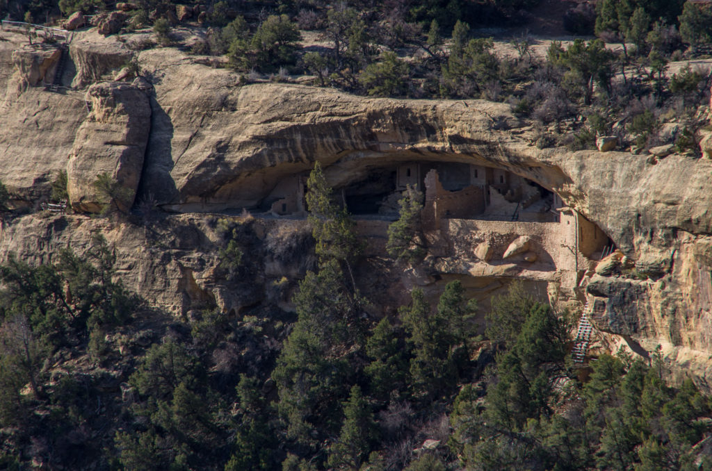 smaller cliff dwelling