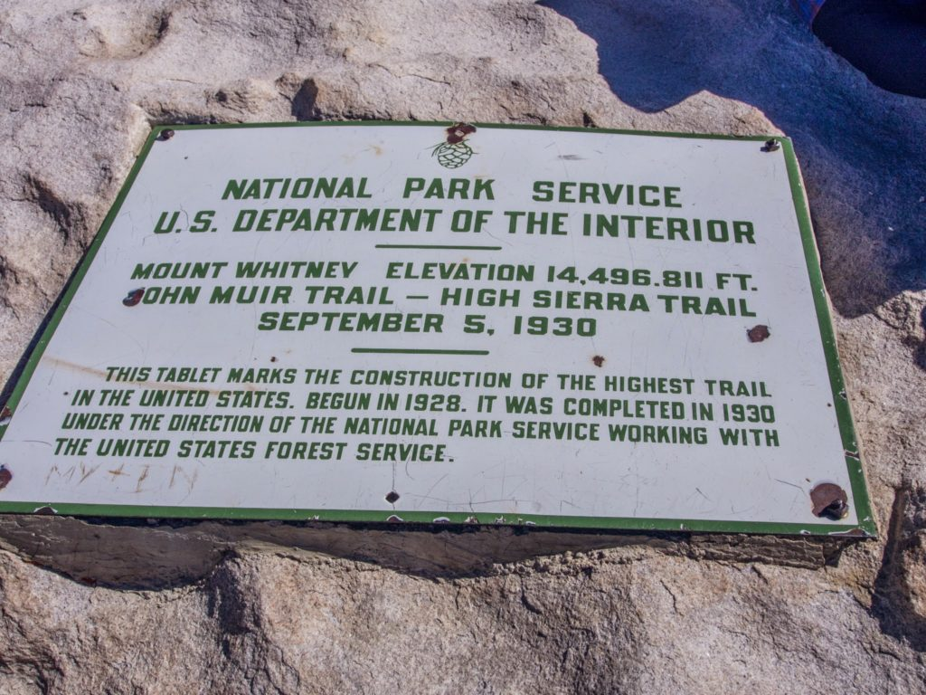 the highest trail in the united states