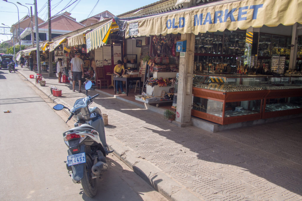 ye old market in siem reap