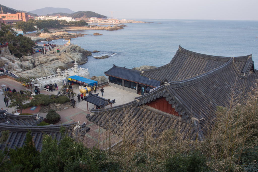 Busan seaside temple.