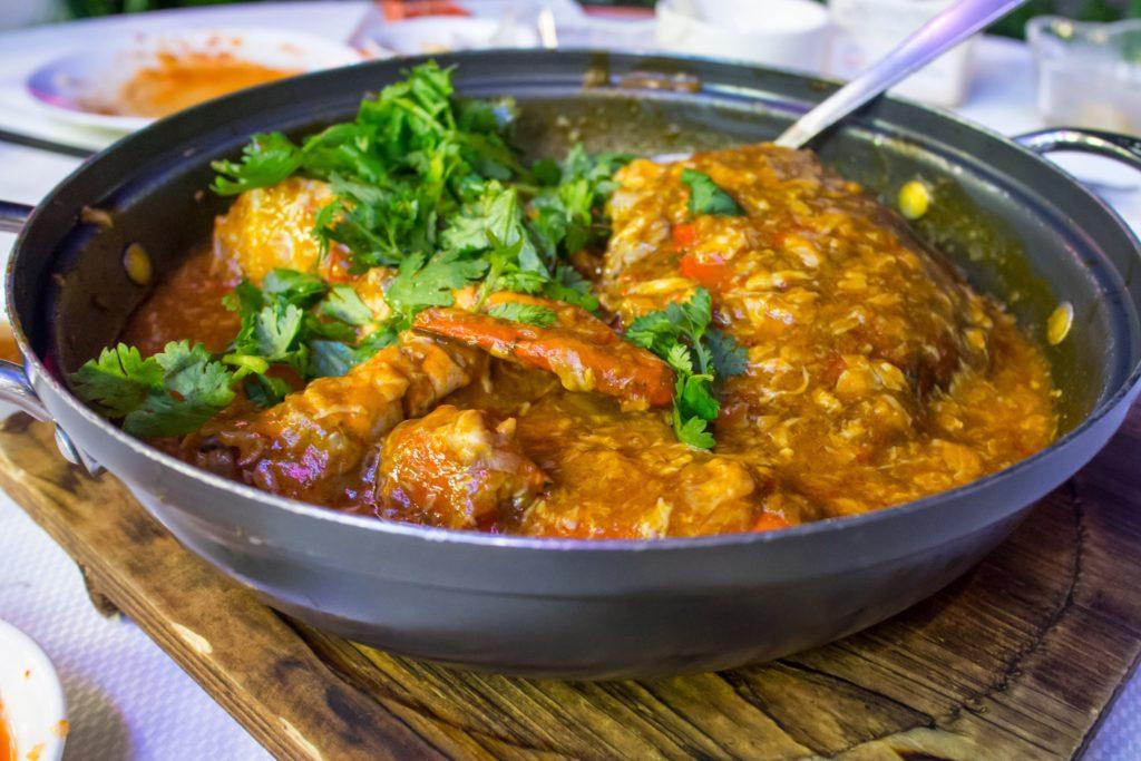 Singapore - chili crab @ jumbo seafood