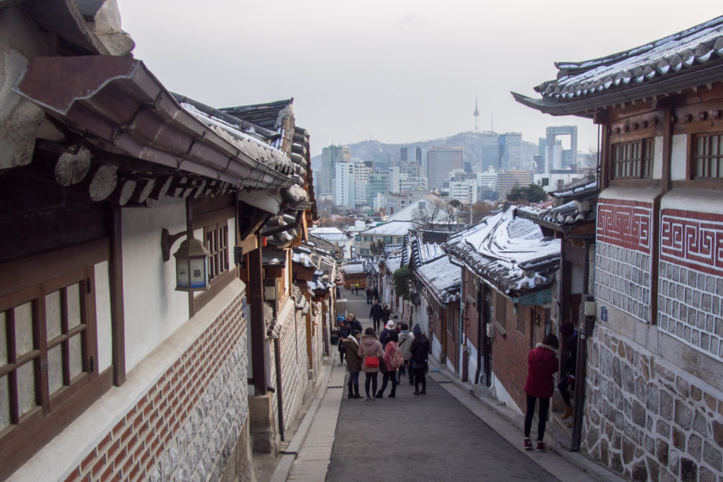another view from bukchon